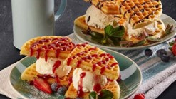 Find Take Aways || Maxi's - Waffle Stack Deal