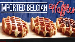 Find Take Aways || Roman's Pizza - Imported Belgian Waffles Prmotion