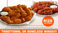 Find Takeaways || Hooters - Wingsday Wednesday Special