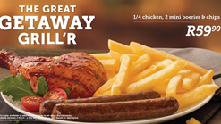 Find Take Aways || Wimpy Great Getaway Griller Deal