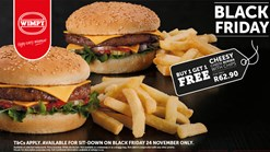 Find Take Aways || Wimpy - Black Friday Promotion