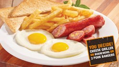 Find Take Aways || Maxi's Breakfast Special