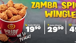 Hungry Lion Zamba Spicy Winglets